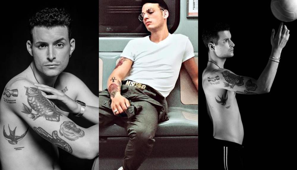 fare modello modella con tatuaggi