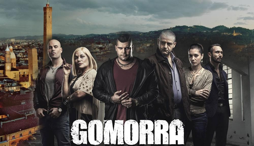 set gomorra a bologna