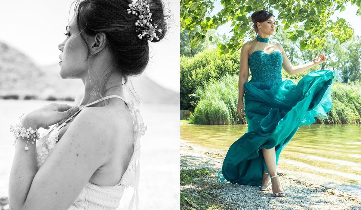 fare modella abiti sposa sara