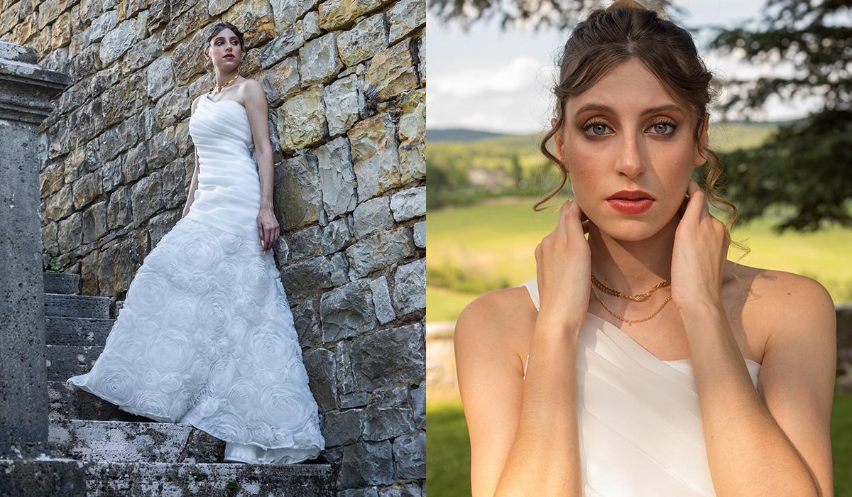 modella abiti sposa anita