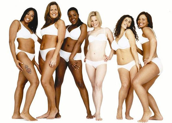 modelle curvy Dove campagna Real Beauty